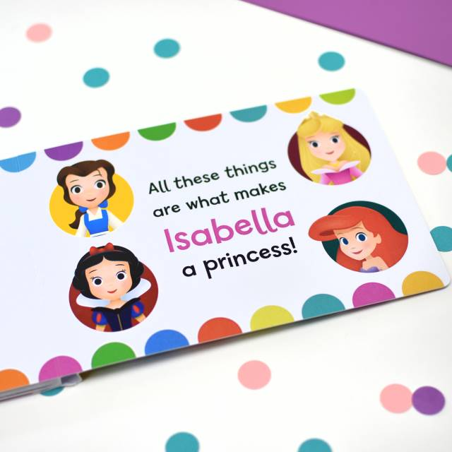 What Makes me a Princess - Disney Princess Board Book