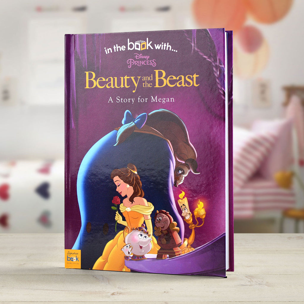 Personalised Disney Beauty & the Beast Book - Oh My Gift