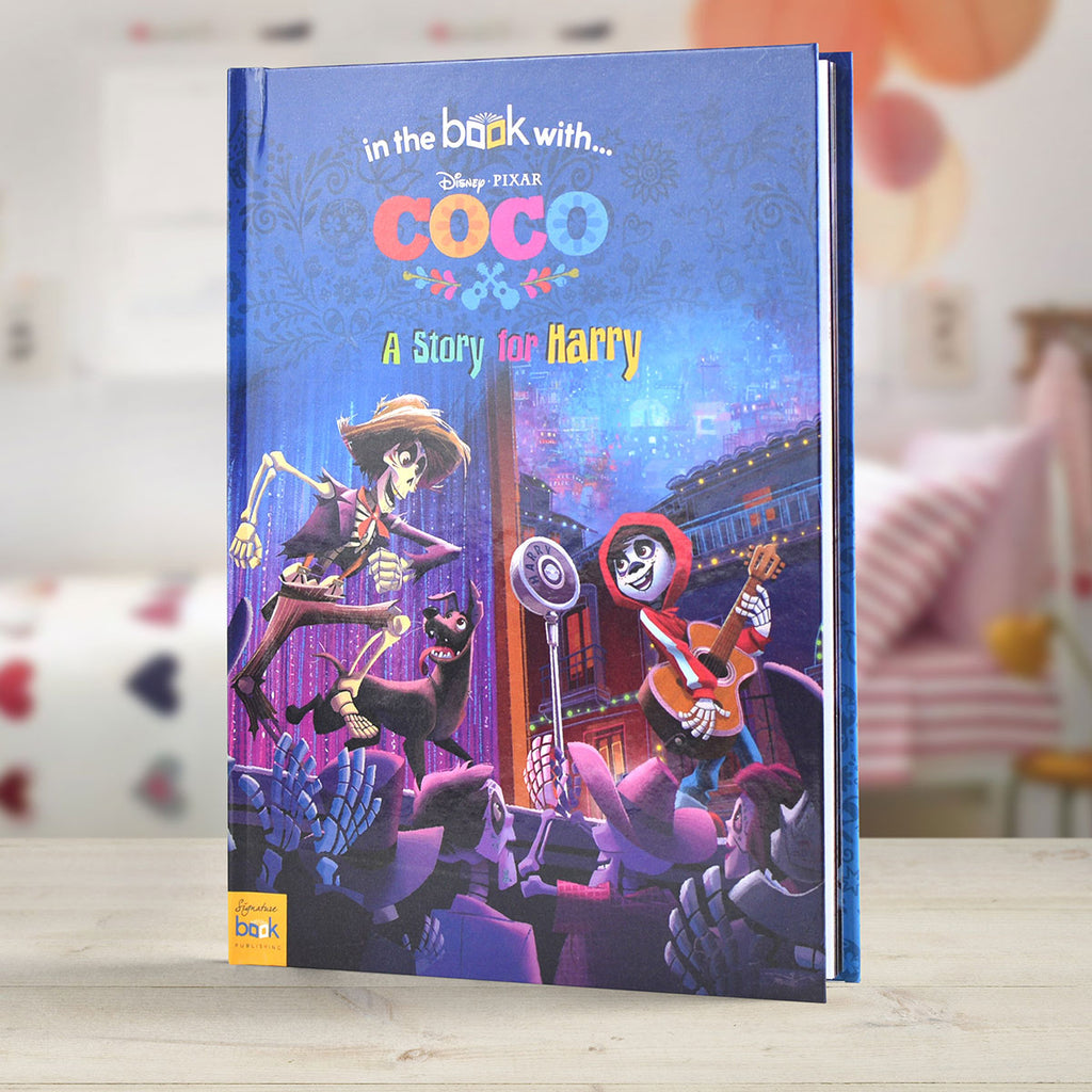 Personalised Disney Coco Book - Oh My Gift