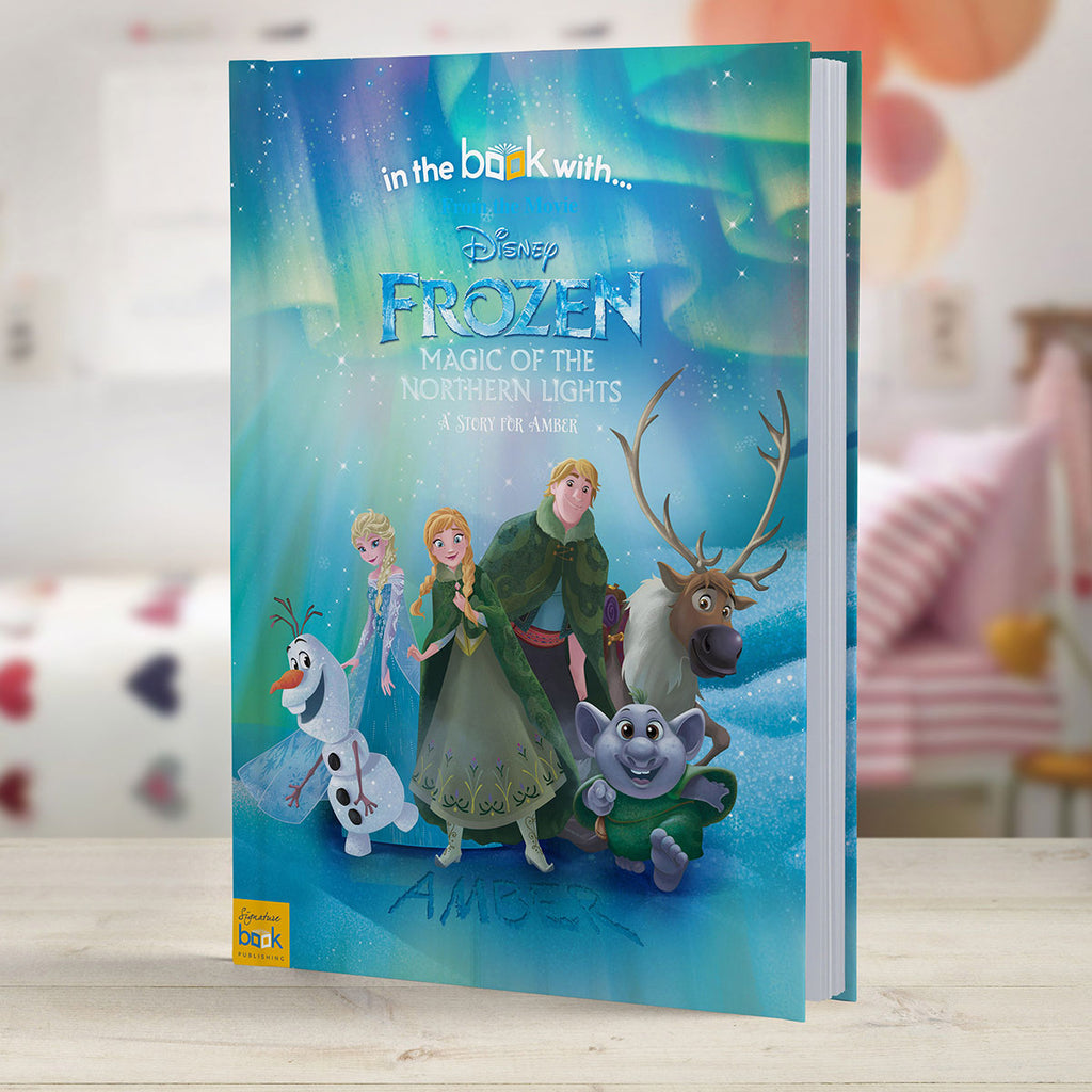 Personalised Disney Frozen Northern Lights Book - Oh My Gift