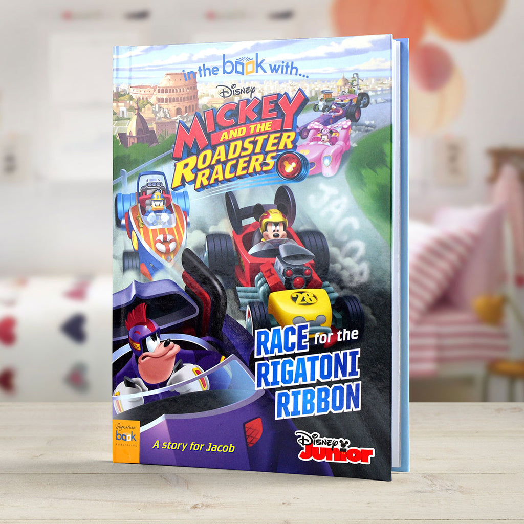 Personalised Disney Mickey and the Roadster Racers Book - Oh My Gift