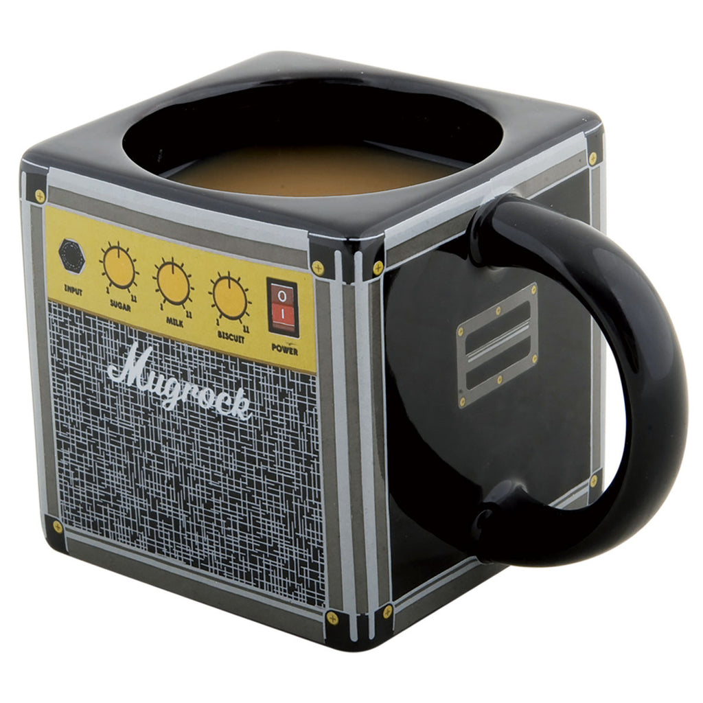 Guitar amp mug in the shape of an amplifier for guitar enthusiasts - Oh My Gift