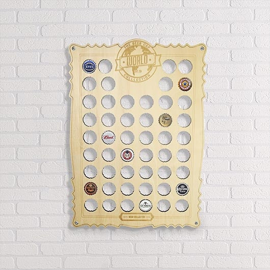 Bottle Cap Collectors Board - Oh My Gift