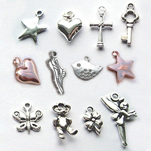 Girls Necklace Charm Options - Oh My Gift