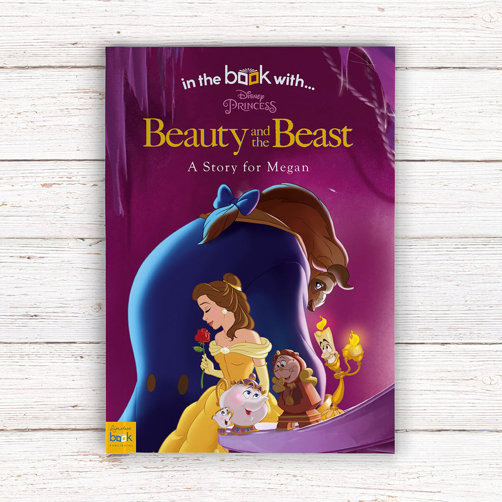 Personalised Disney Beauty & the Beast Book - Presents for Girls - Oh My Gift