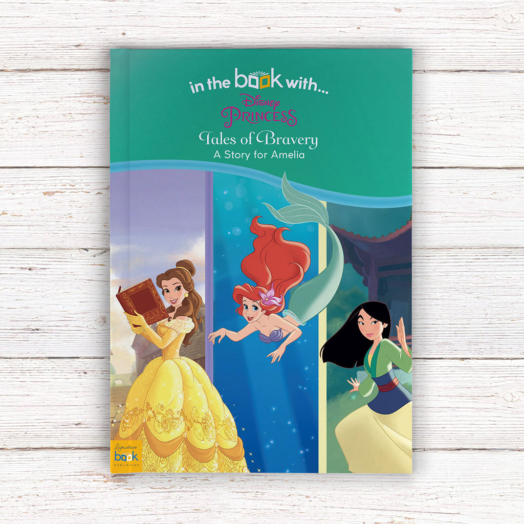 Personalised Disney Princesses: Tales of Bravery Book - Perfect for Little Girls - Oh My Gift