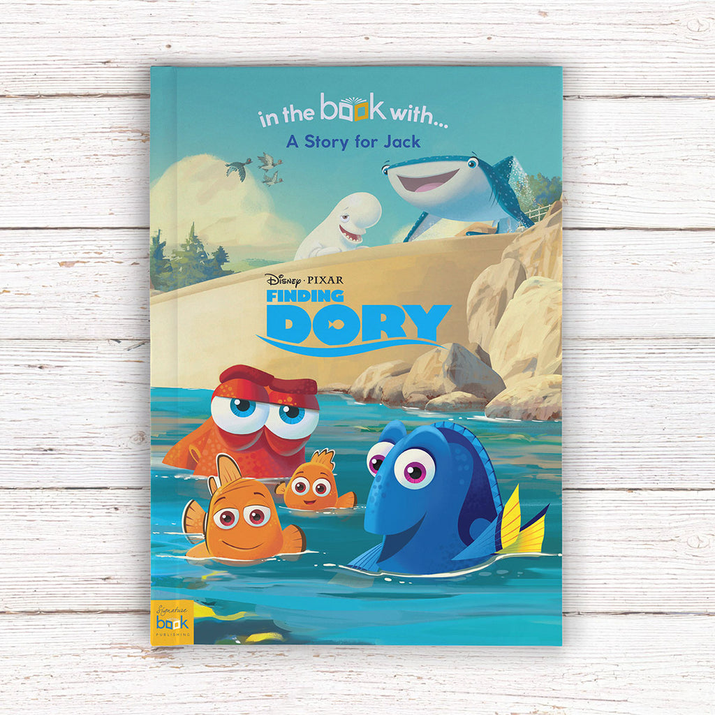 Personalised Disney Finding Dory Book - Presents for Boys - Oh My Gift