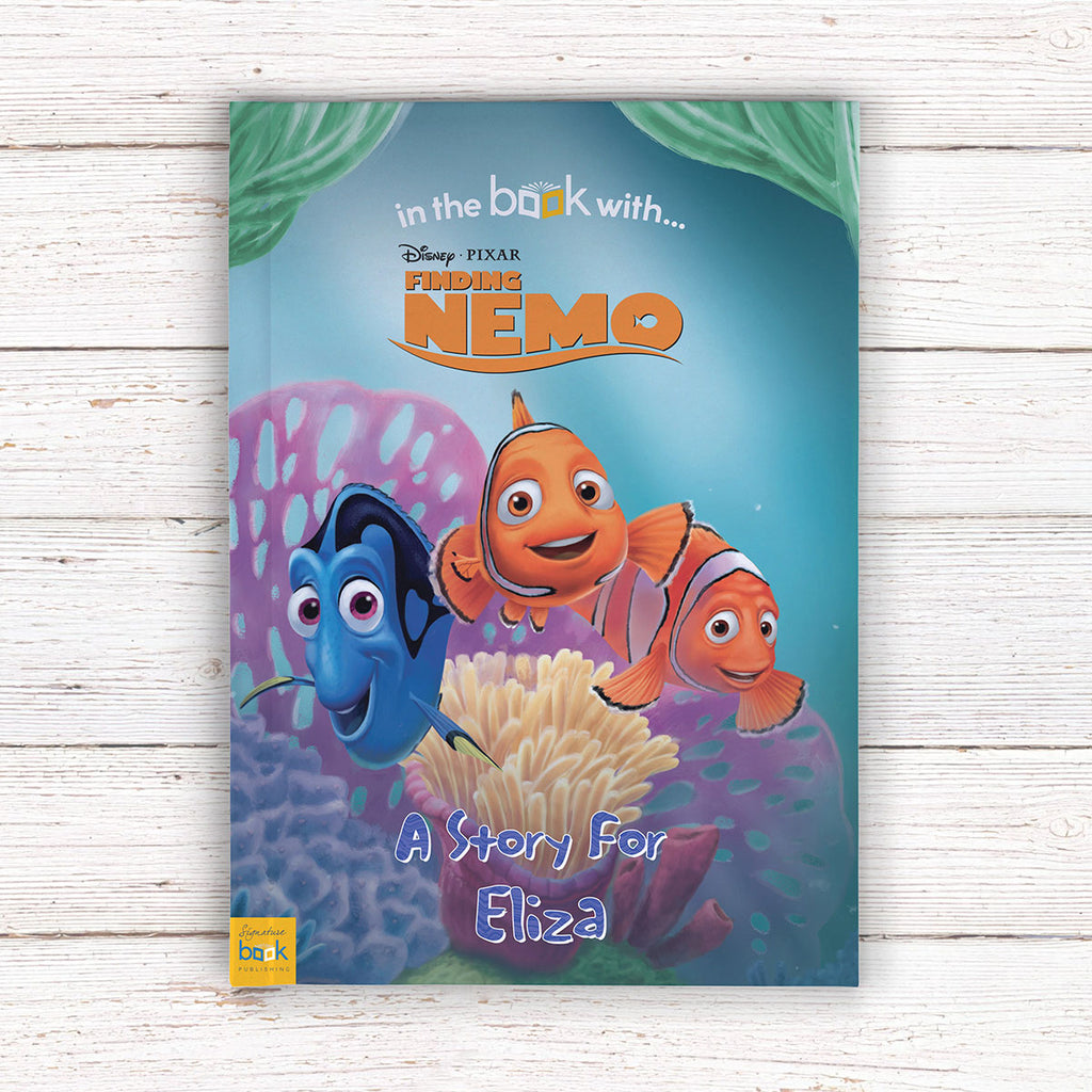Personalised Disney Finding Nemo Book - Perfect Present for Little Boys - Oh My Gift
