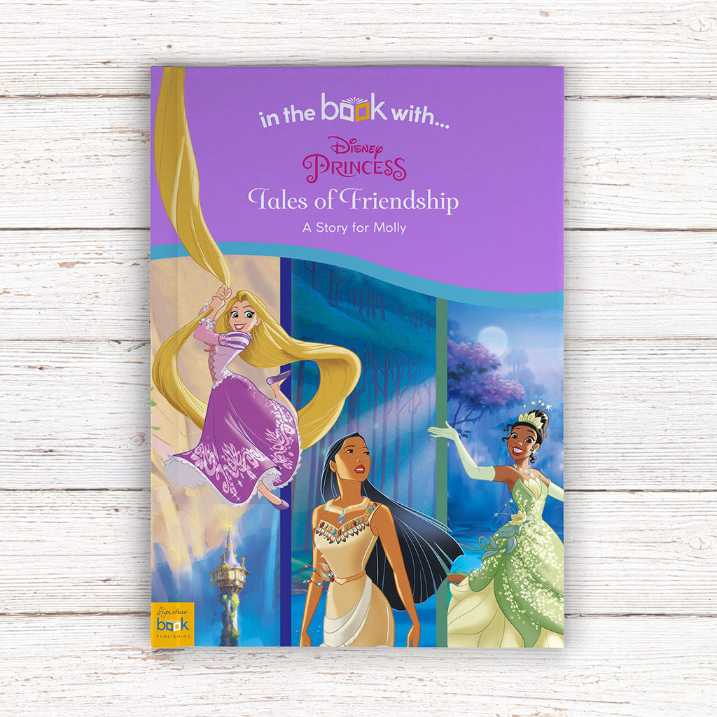Personalised Disney Princesses: Tales of Friendship Book - Ideal Present for Little Girls - Oh My Gift