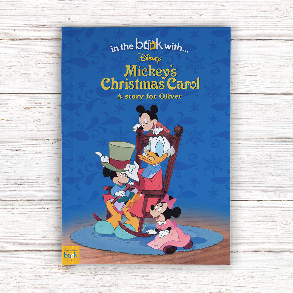 Personalised Disney Mickey's Christmas Carol Book - Great Christmas Gift for Kids - Oh My Gift