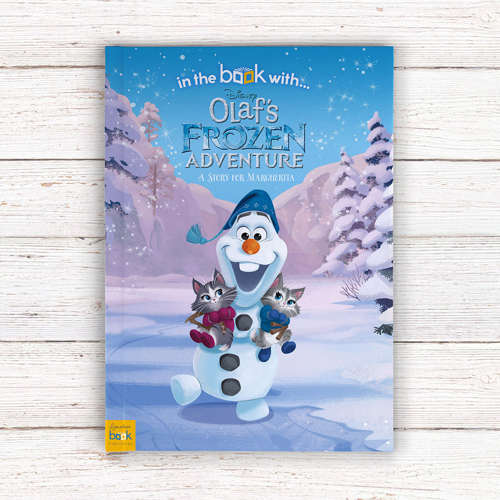Personalised Disney Olaf's Frozen Adventure Book - Great Present for Little Girls - Oh My Gift