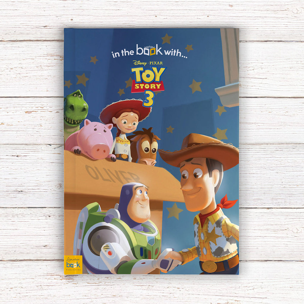 Personalised Disney Toy Story 3 Book - Perfect Gift for Woody Cowboy Lovers - Oh My Gift