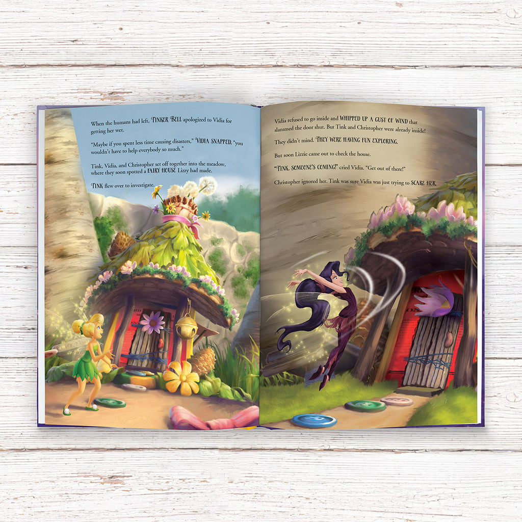 Personalised Disney Fairies Book - Reading for Little Fairies - Oh My Gift