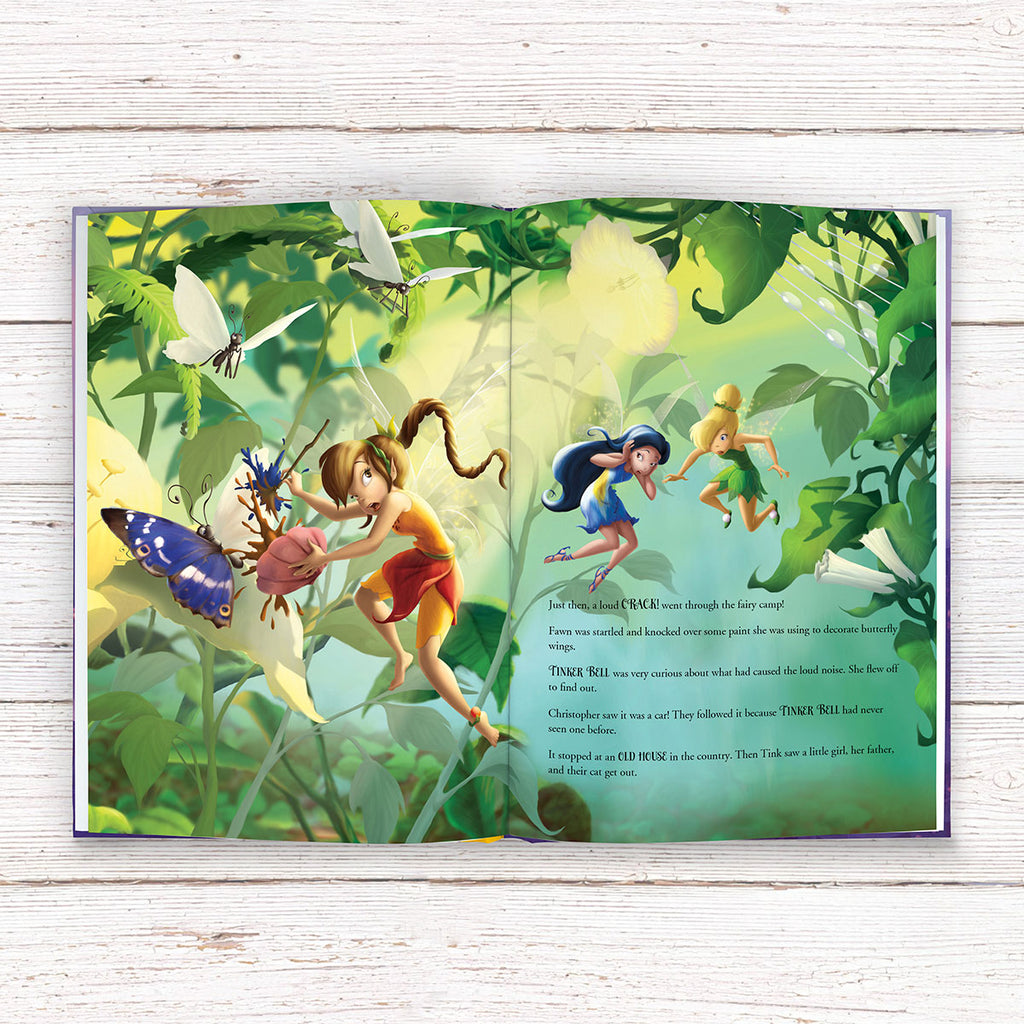 Personalised Disney Fairies Book - Great Gift for Little Girls - Oh My Gift
