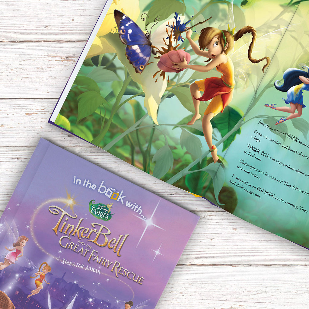 Personalised Disney Fairies Book - Great Girl Present - Oh My Gift