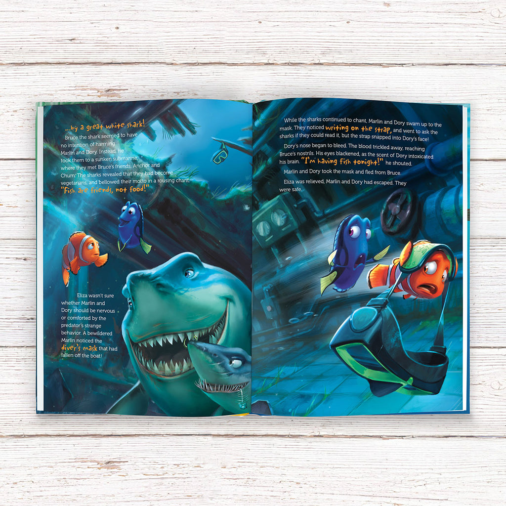 Personalised Disney Finding Nemo Book - Books for Boys - Oh My Gift