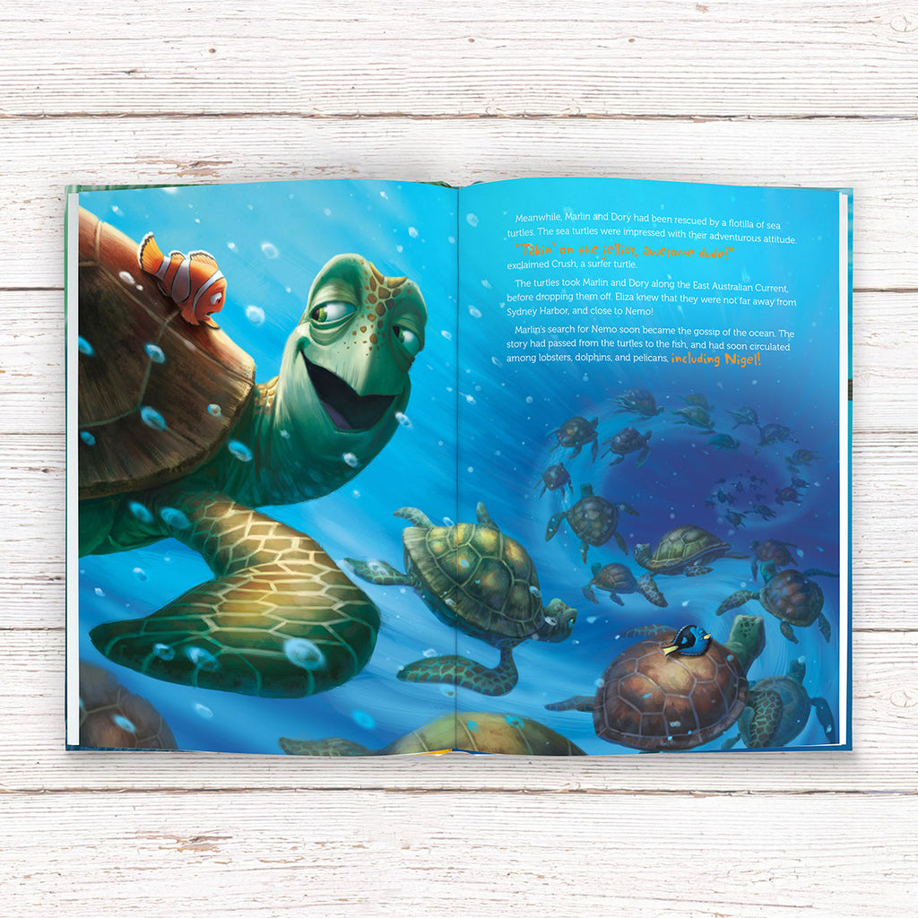 Personalised Disney Finding Nemo Book - Great Kids Party Gift - Oh My Gift