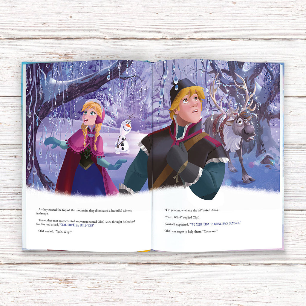 Personalised Disney Frozen Book - Great Gift for Frozen Fans - Oh My Gift