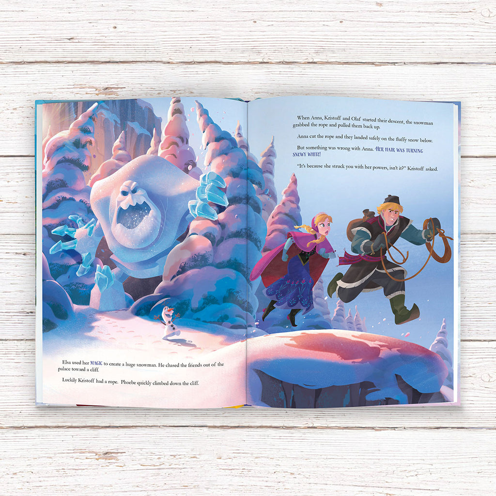 Personalised Disney Frozen Book - Fun Reading for Children - Oh My Gift