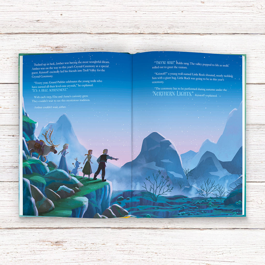 Personalised Disney Frozen Northern Lights Book - Books for Children - Oh My Gift