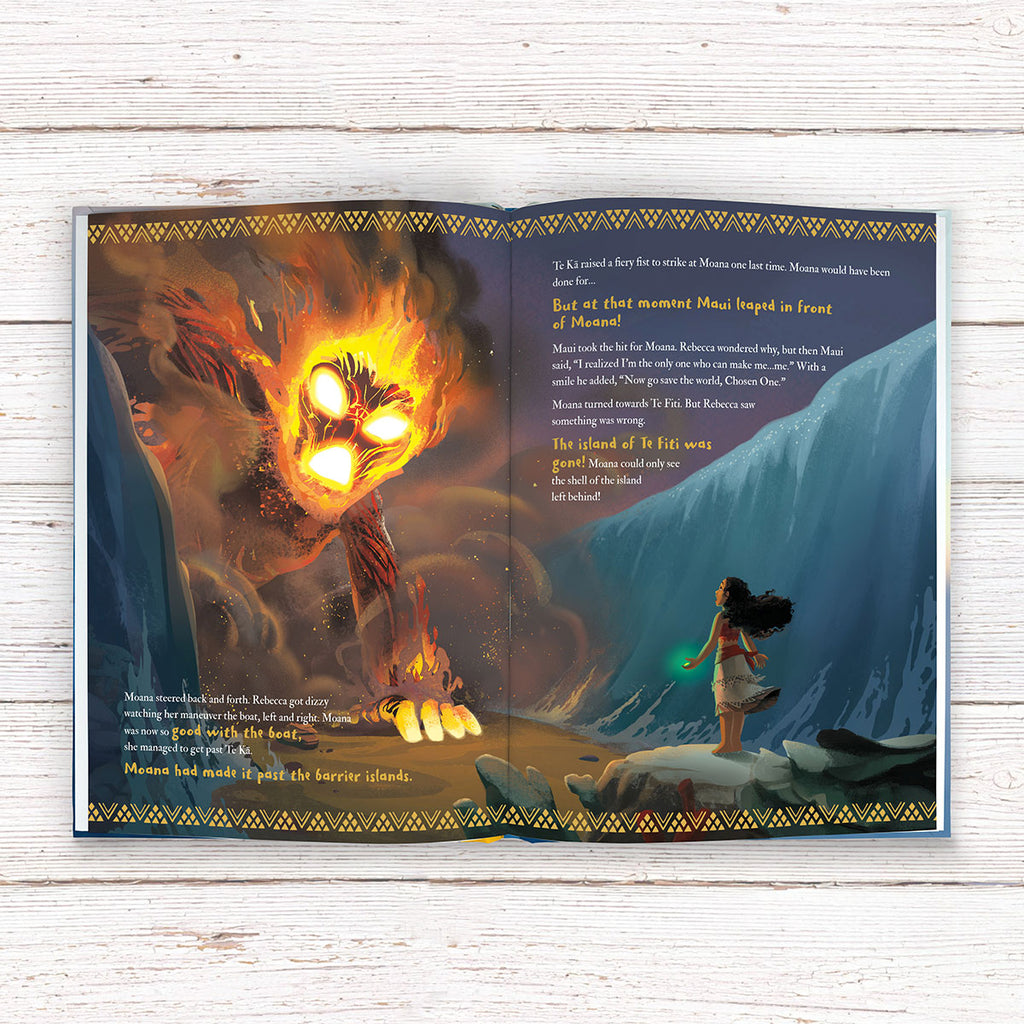 Personalised Disney Moana Book - Great Gift for Kids - Oh My Gift