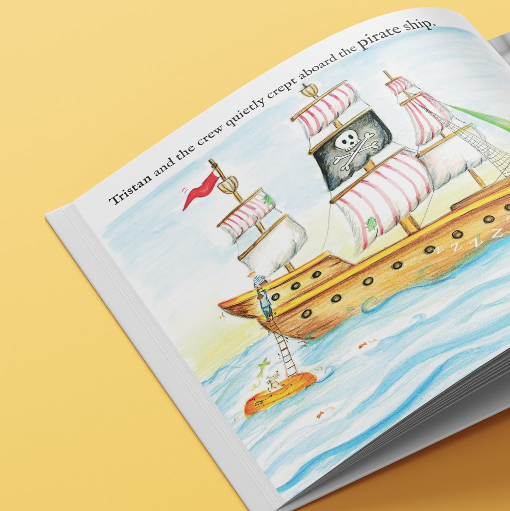 The Golden Key Personalised Children's Book