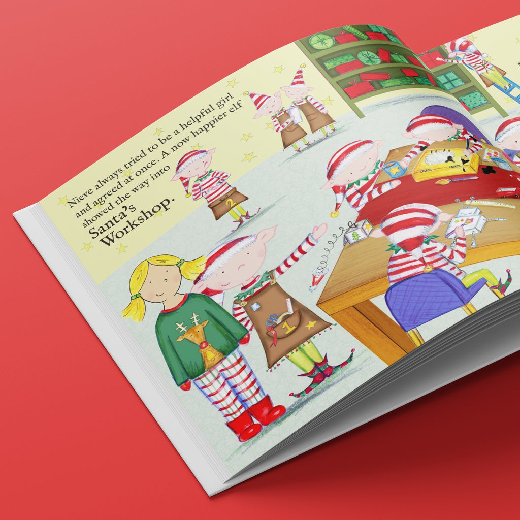Santa Socks Personalised Children's Book