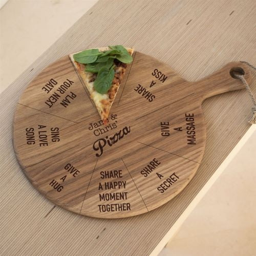 Oak Pizza Board - Oh My Gift