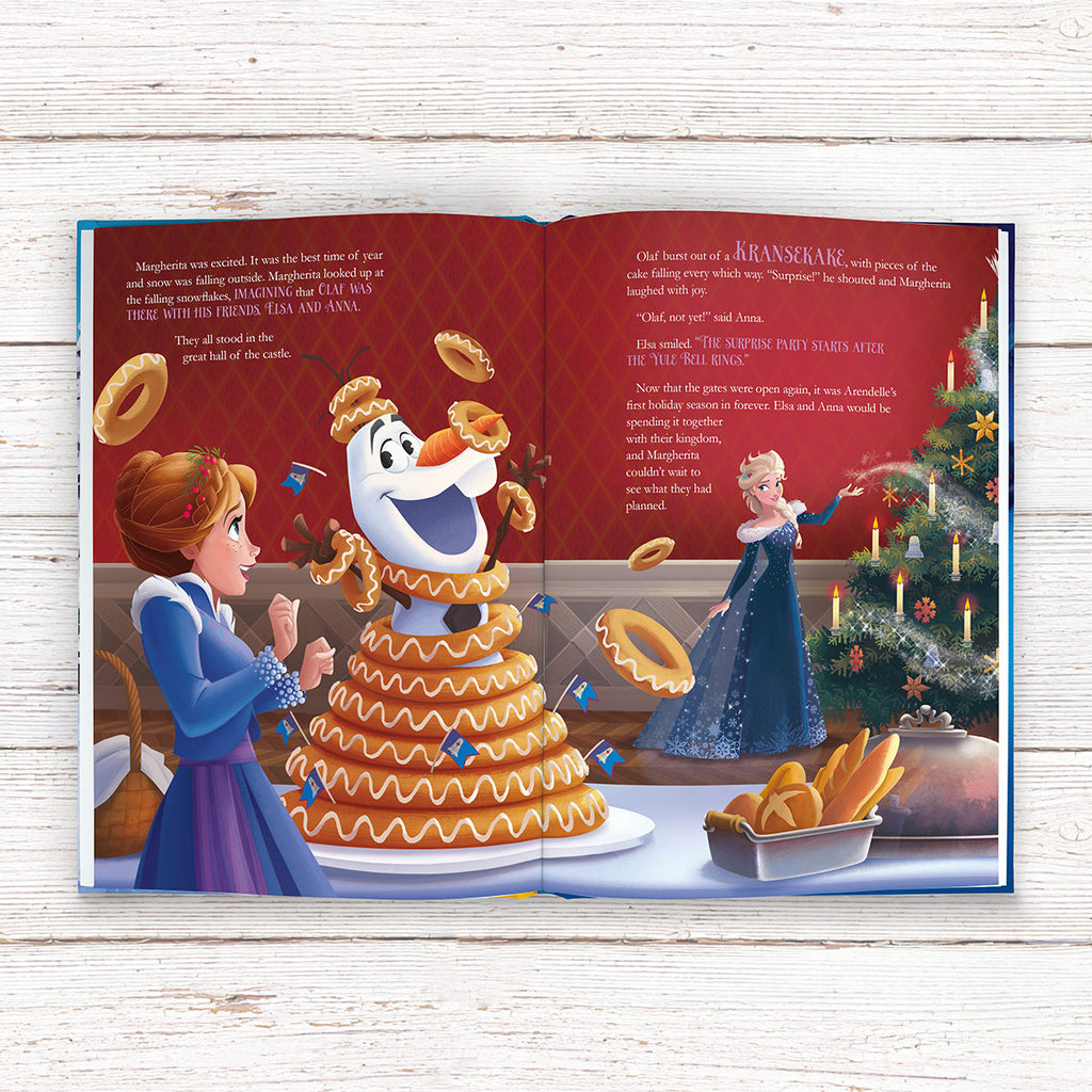 Personalised Disney Olaf's Frozen Adventure Book - Perfect Gift for Frozen Fans - Oh My Gift