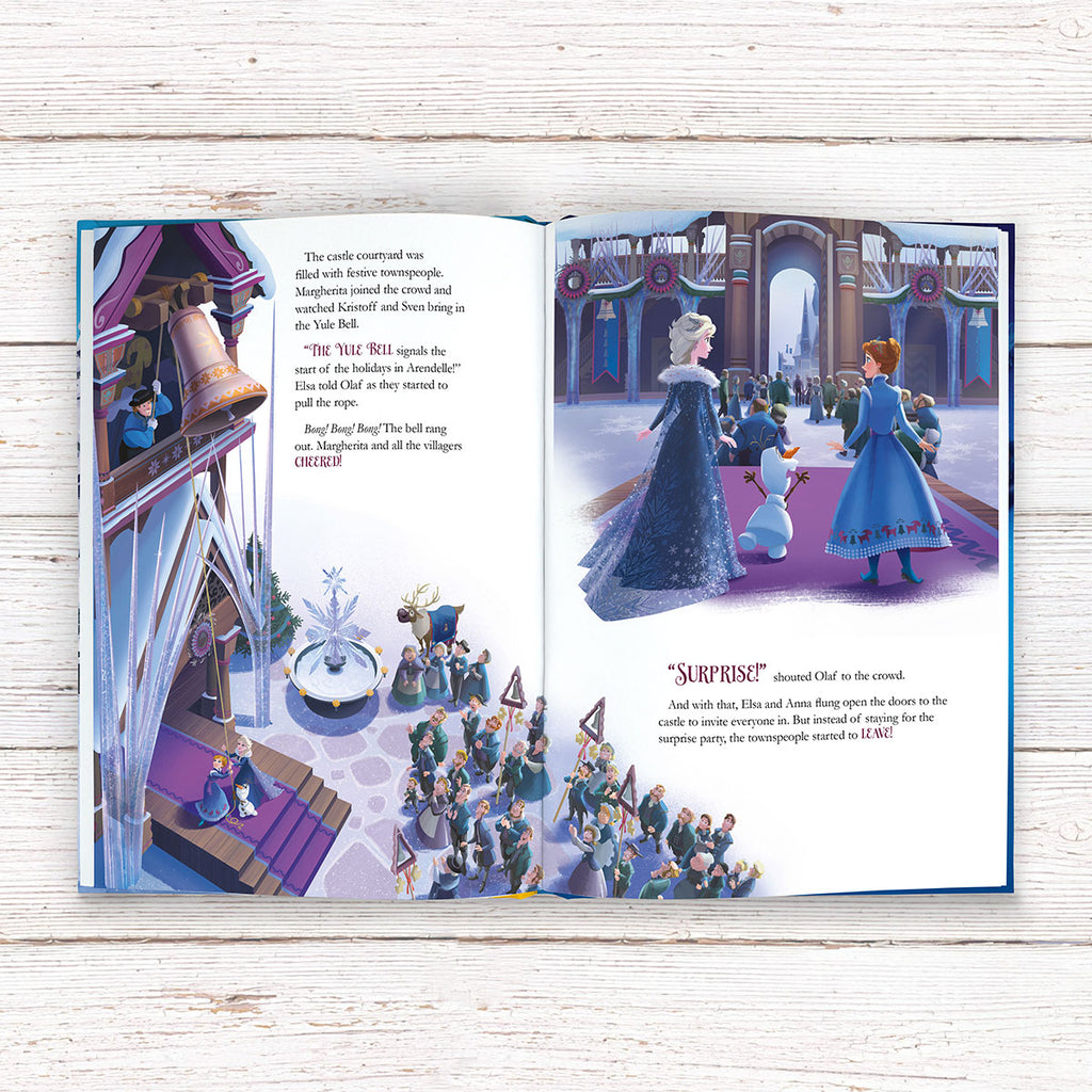 Personalised Disney Frozen Book - Great Present for Kids - Oh My Gift