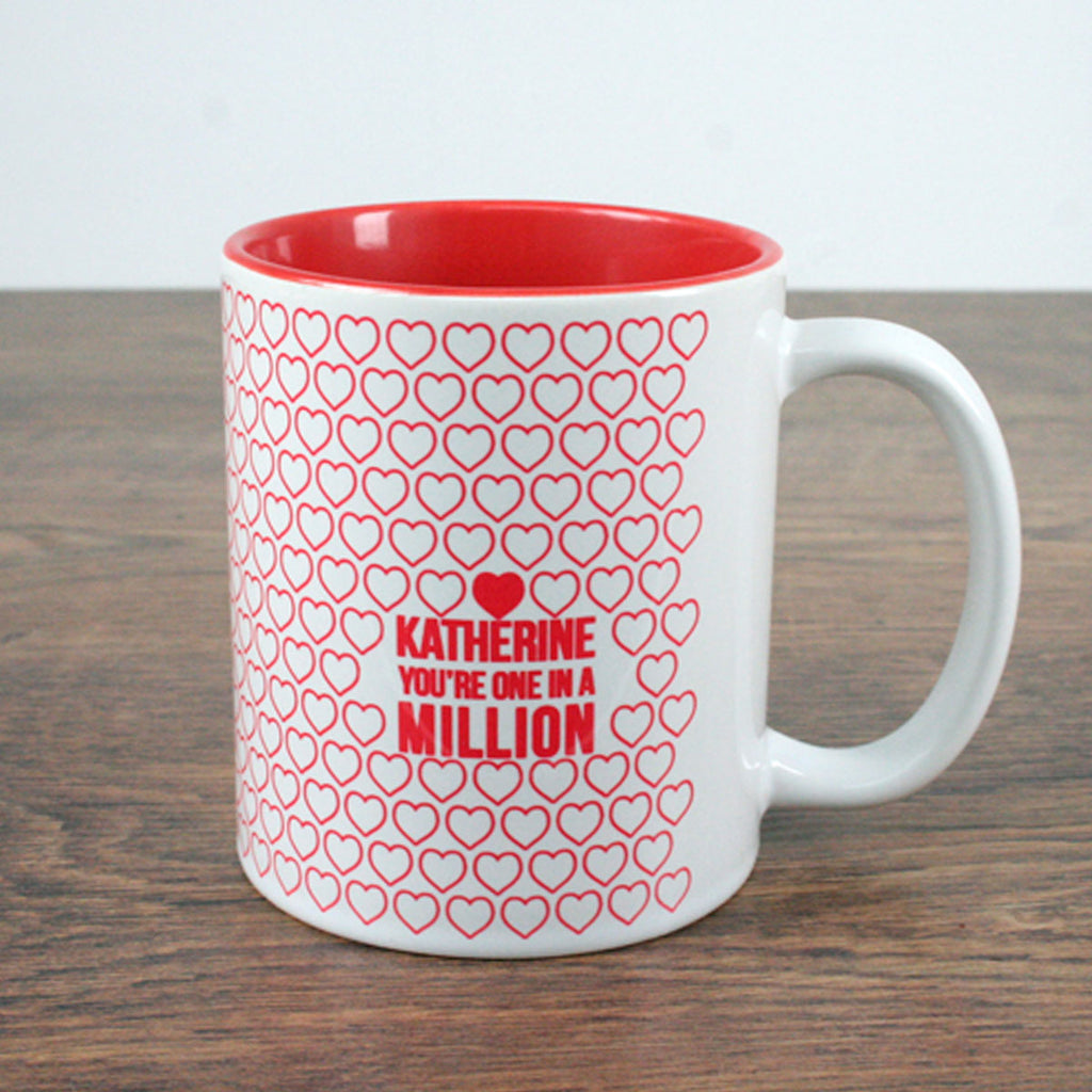 One In A Million Mug Personalised with any Name - Oh My Gift
