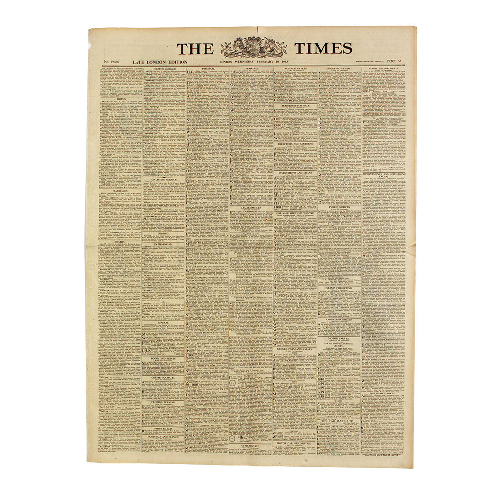 Original Birthday Newspaper - Oh My Gift
