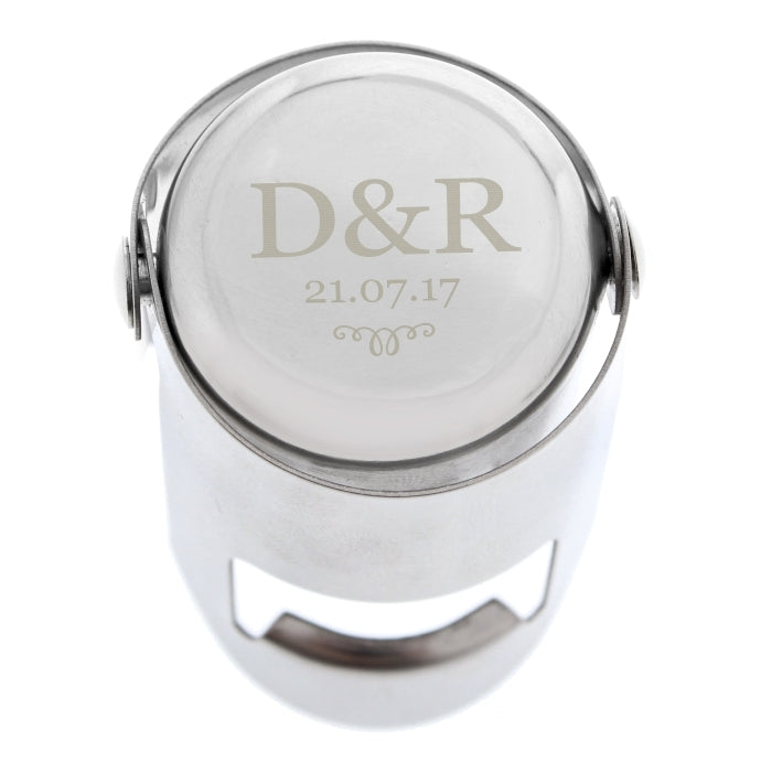 Personalised Monogram Bottle Stopper - Oh My Gift