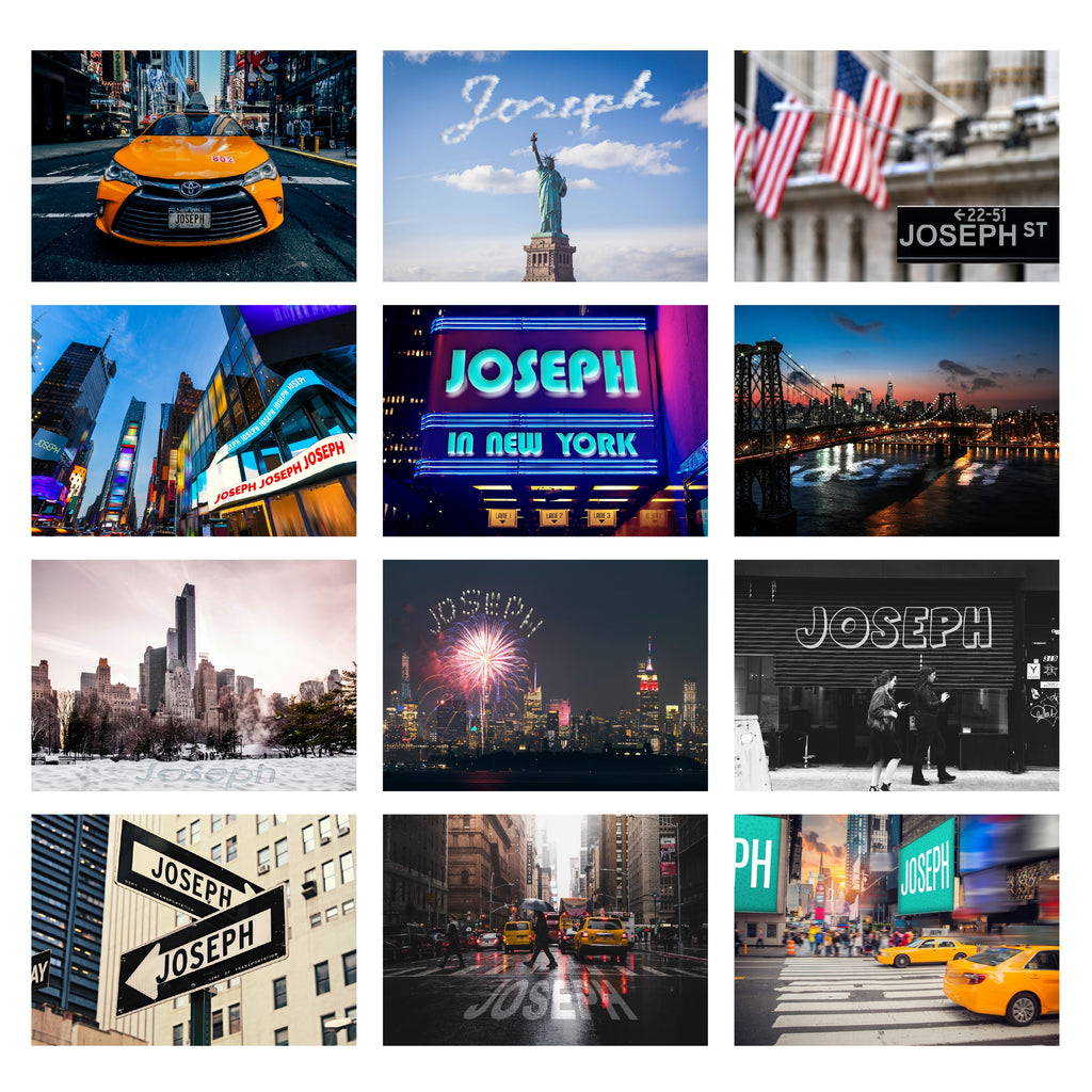 Personalised New York Desk Calendar