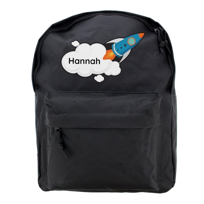 Personalised Rocket Backpack - Oh My Gift