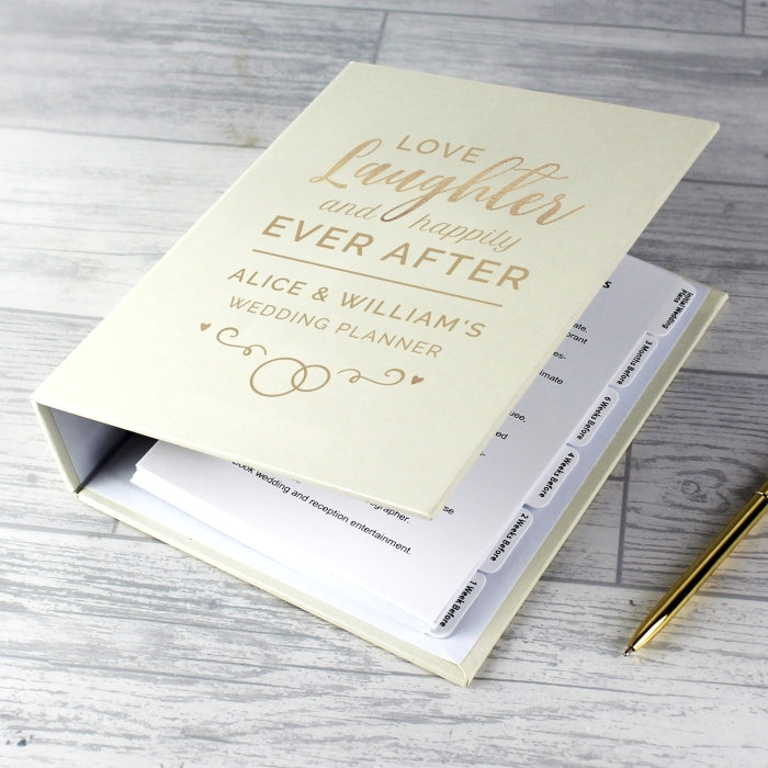 Personalised Happily Ever After Wedding Planner - Oh My Gift