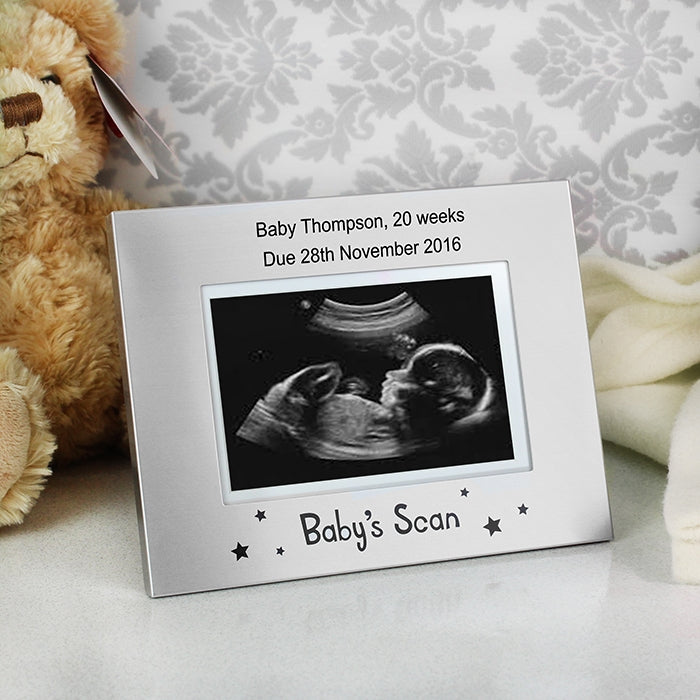 Personalised Baby Scan 4.5 x 3 Frame - Oh My Gift