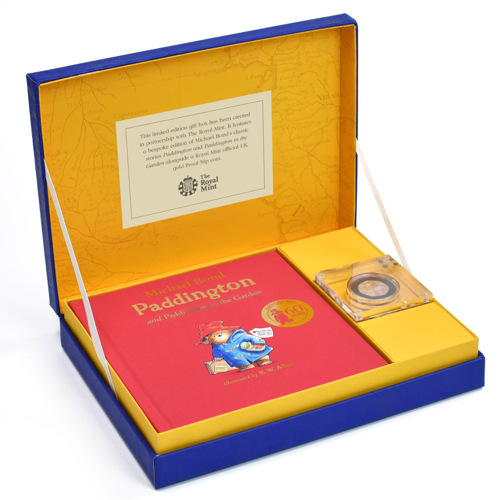 Paddington Bear Gold Royal Mint Collection Box - Oh My Gift