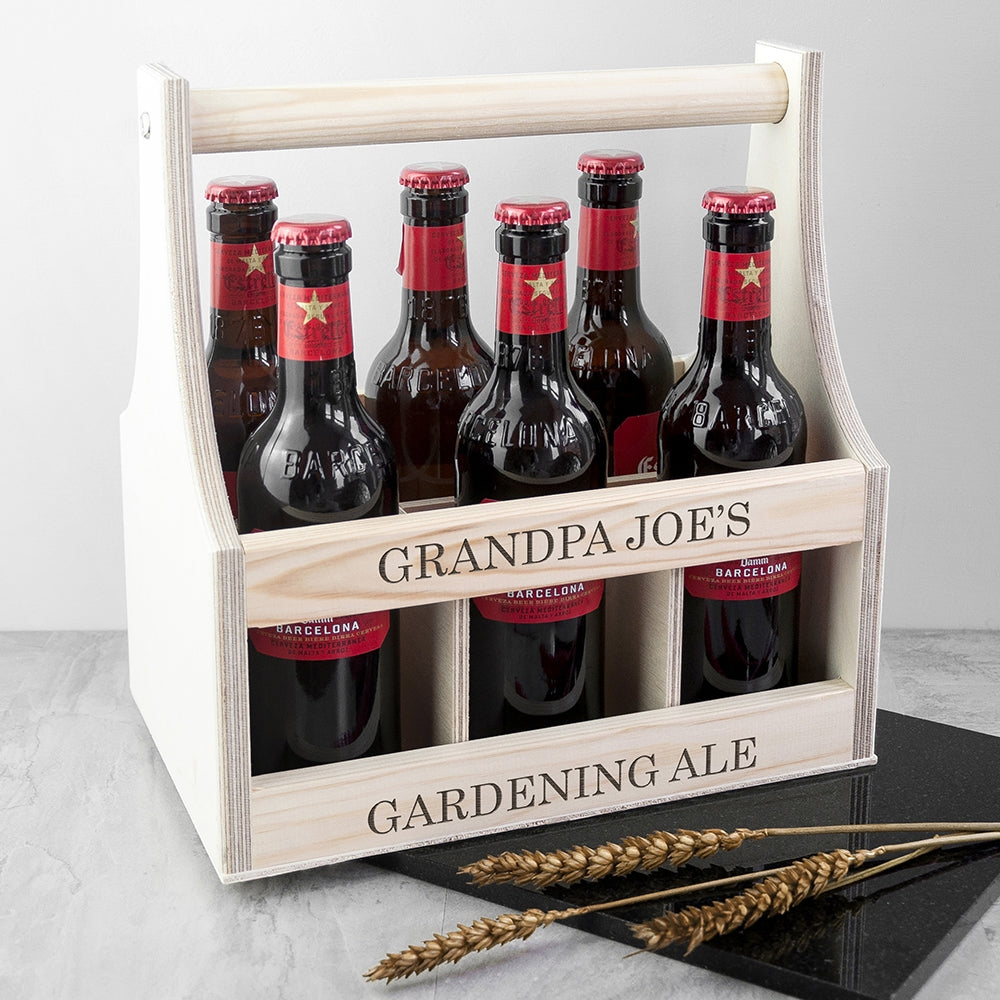 Personalised Garden Beer Trug - Oh My Gift