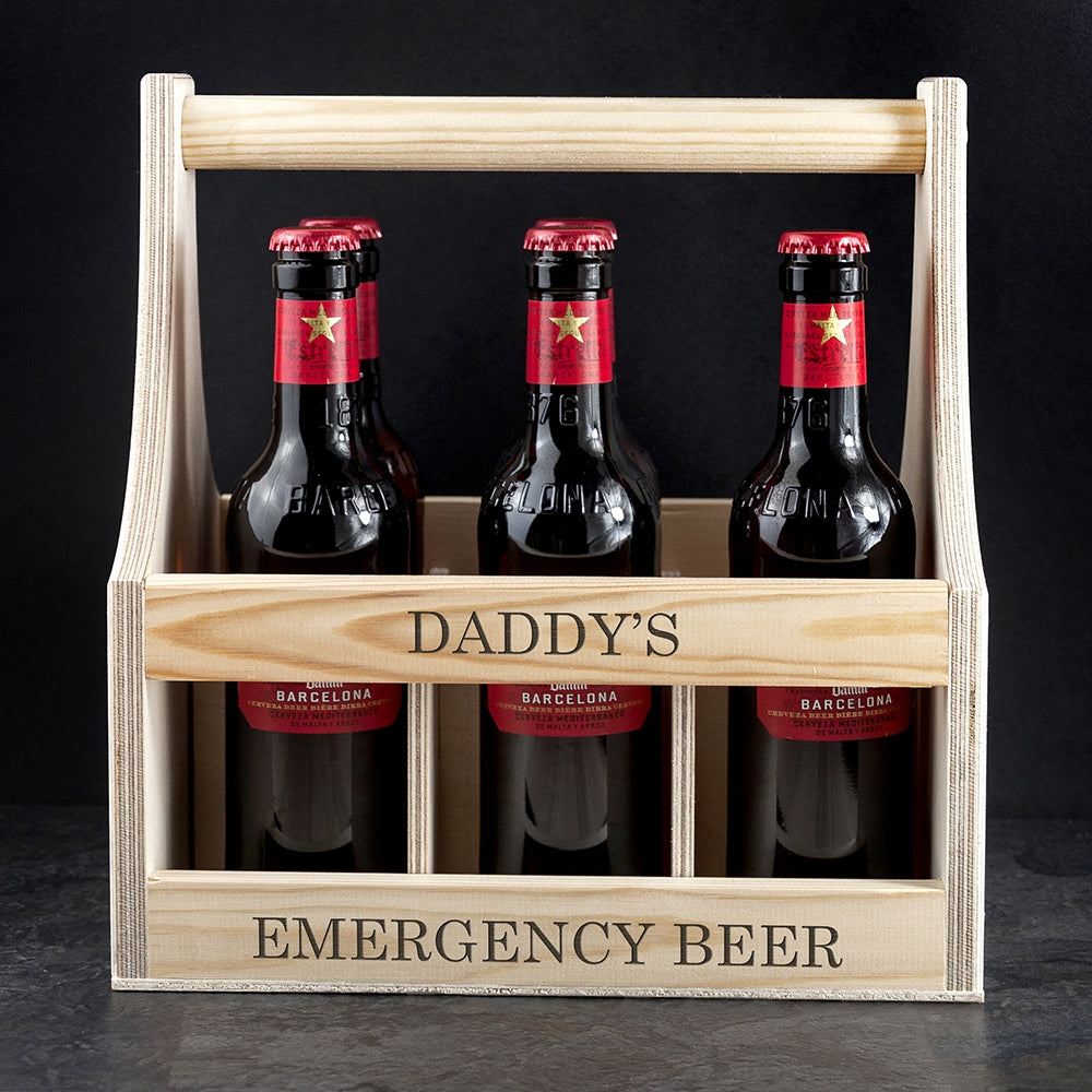 Personalised Garden Beer Trug for Daddy - Oh My Gift