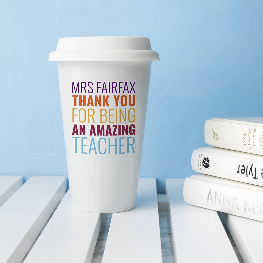 Amazing Teacher Travel Mug - Oh My Gift
