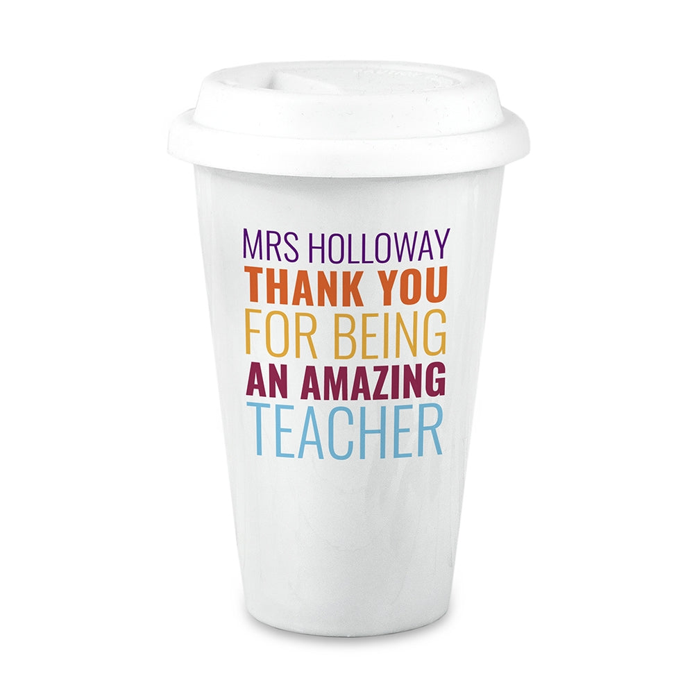 Amazing Teacher Travel Mug