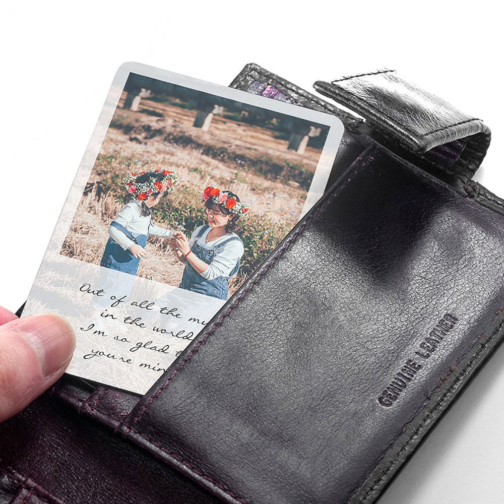 Personalised Mum's Photo Wallet Keepsake - Oh My Gift