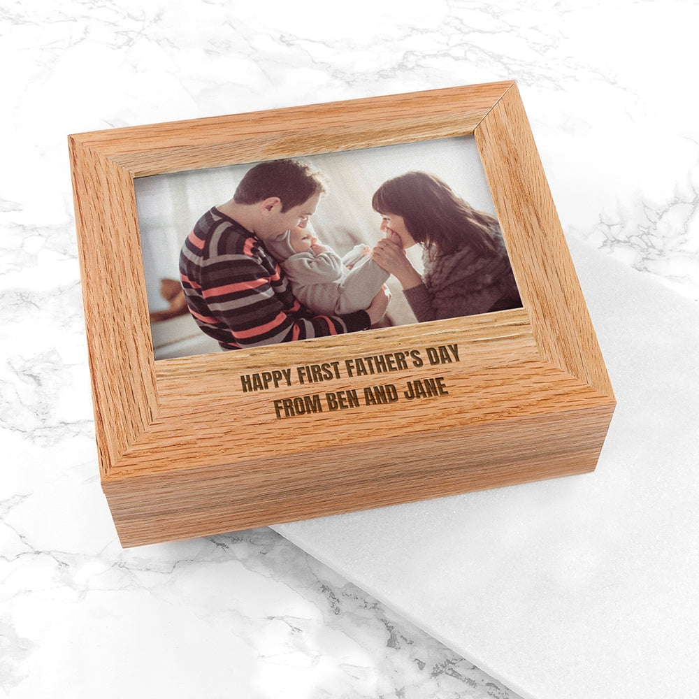 Personalised Father's Day Photo Box - Oh My Gift