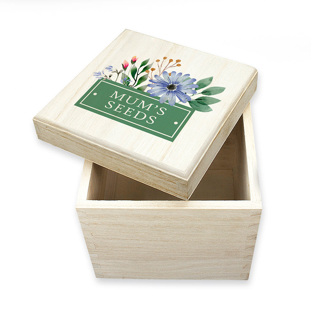 Flower Seeds Box - Personalised