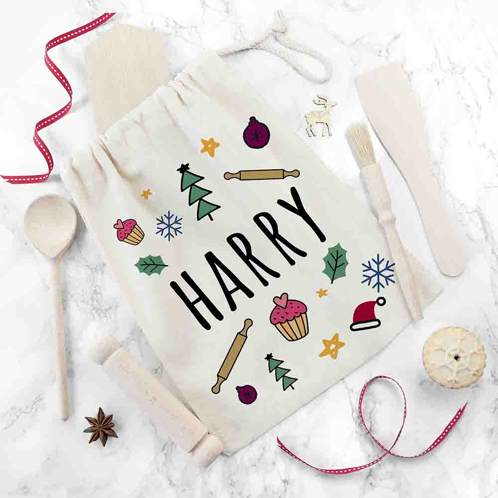 Kids Festive Baking Kit - Personalise with their name