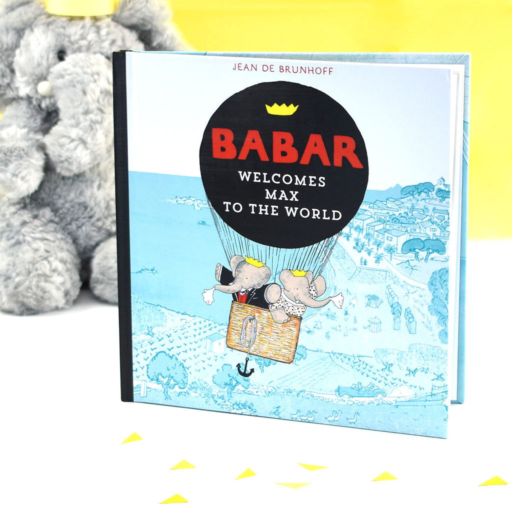 Personalised Babar Welcomes You to the World Book - Oh My Gift