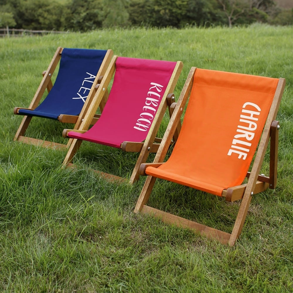 Personalised Children's Deckchair - Oh My Gift