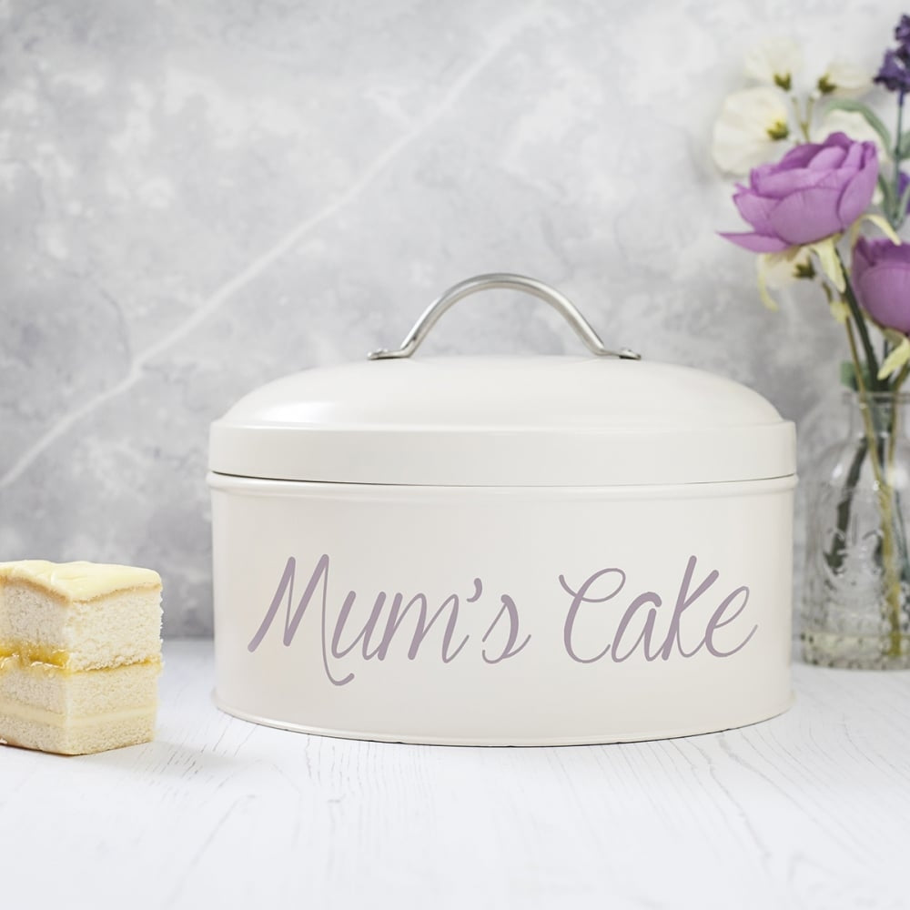 Personalised Cake Tin for Mum - Oh My Gift