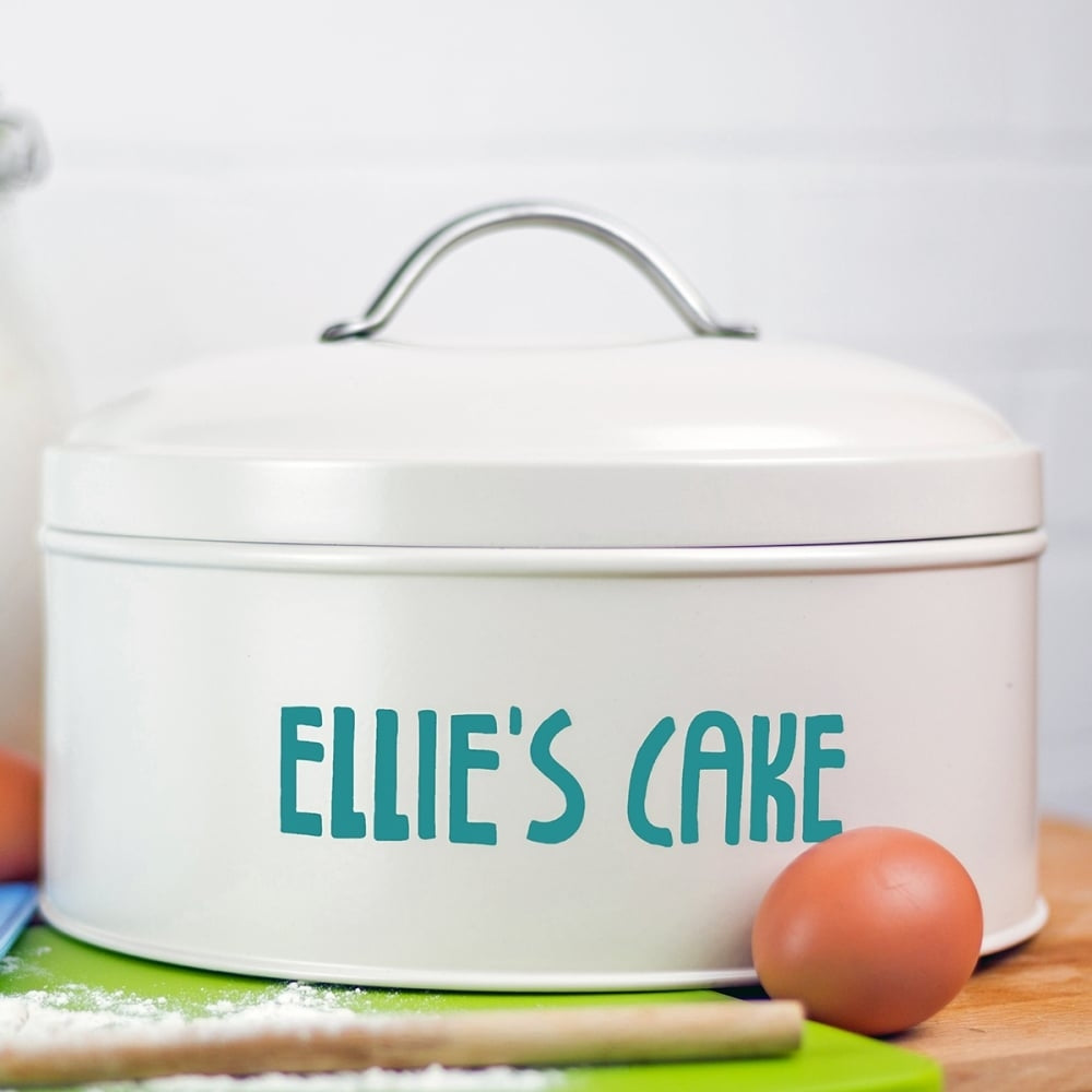 Personalised Name Cake Tin - Oh My Gift